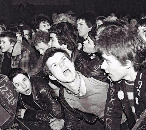 punk gig