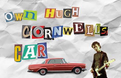 hugh cornwells car