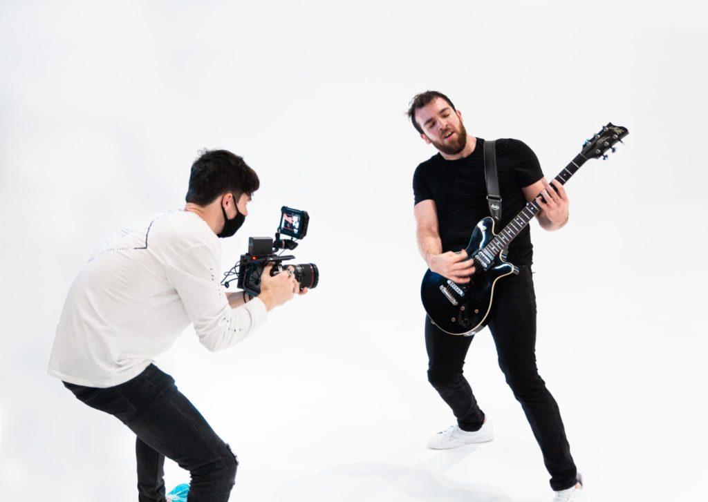 MOLLY & THE KRELLS video shoot