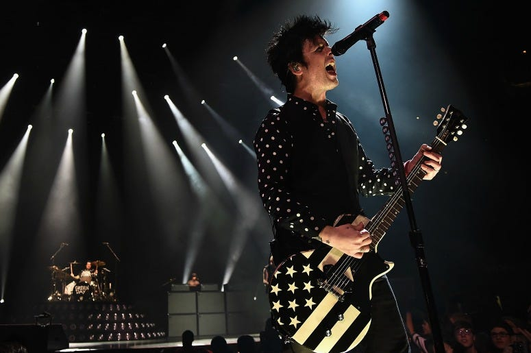 Green Day Woodstock