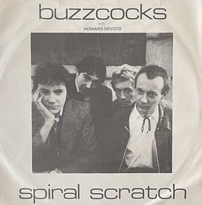 Buzzcocks Spiral Scratch EP