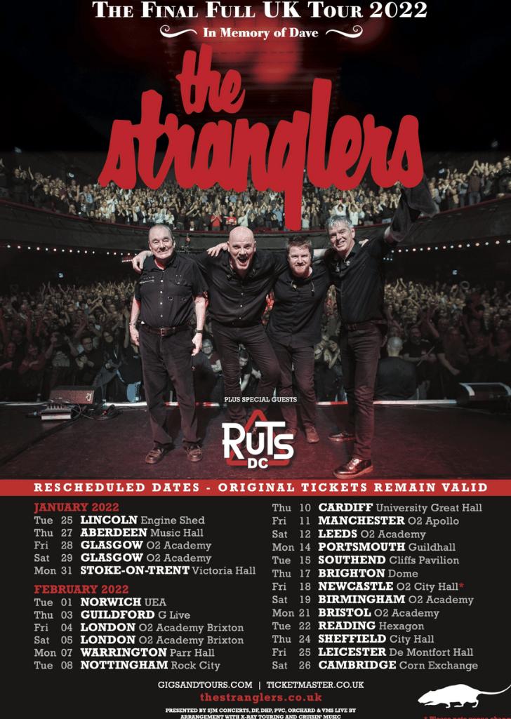 stranglers Tour Dates